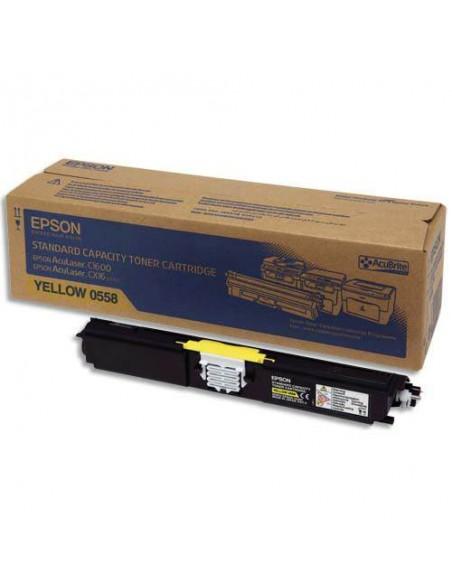 EPSON Toner Jaune Capacité Standard(1600p)C1600/16CX/CX1 (C13S050558)