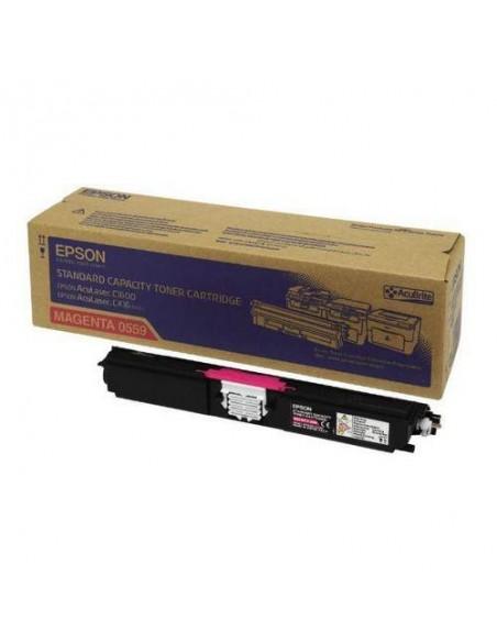 Epson Toner Magenta Capacité Standard(1600p)C1600/16CX/CX16N (C13S050559)