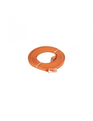 D-LINK CORDON DE BRASQAGE CAT6 UTP Flat 5M Orange (NCB-C6UORGF1-5)
