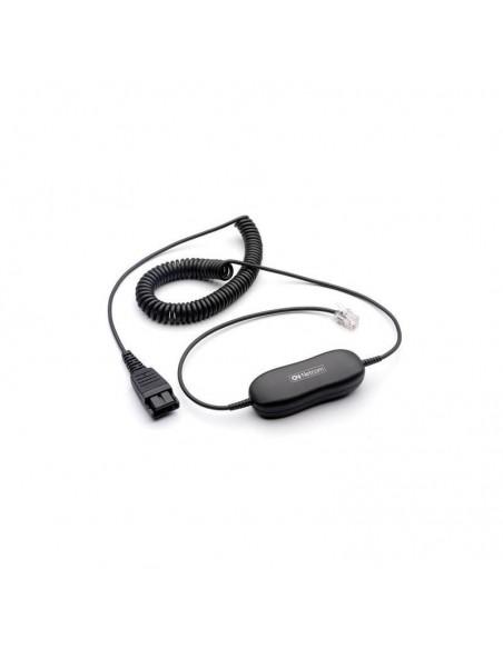 Jabra 88001-04 0.8m Noir câble de téléphone
