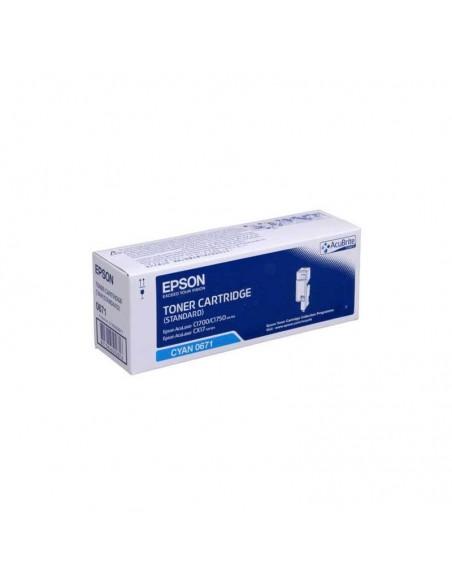 EPSON Toner Cyan Capacité Stan AL-C1700/AL-C1750/AL-CX17/AL- (C13S050671)
