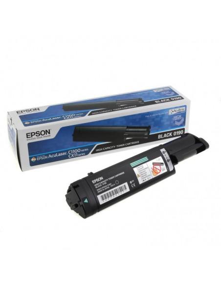 EPSON Toner noir AL-C1100/CX11 Haute Capacite (4 000p) (C13S050190)