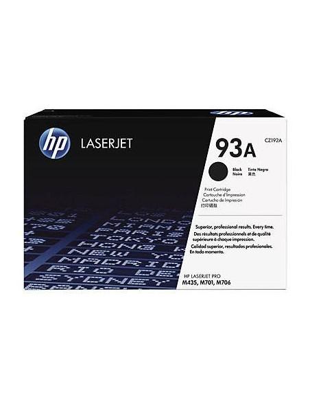 HP 93A Black LaserJet Cartridge (CZ192A) (CZ192A)