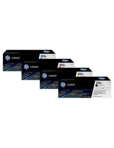 HP 305A Magenta Contract LaserJet Toner Cartridge (CE413AC)