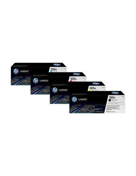HP 305X Black Contract LaserJet Toner Cartridge (C (CE410XC)