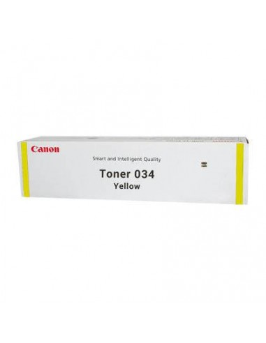 CANON Toner 034 Yellow