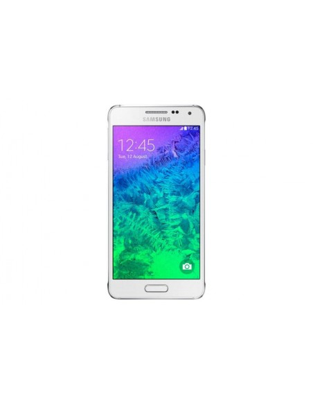 Samsung Galaxy Alpha SM-G850F SIM unique 4G 32Go Blanc smartphone