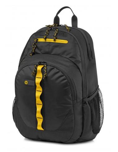 HP Sac à dos de sport 15.6 noir jaune