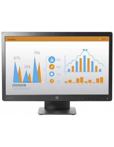 "HP ProDisplay P232 23"" Full HD TN Mat Noir écran plat de PC"