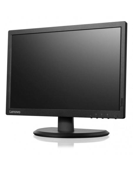 """Lenovo ThinkVision E2054 19.5"""" IPS Noir écran plat de PC"""