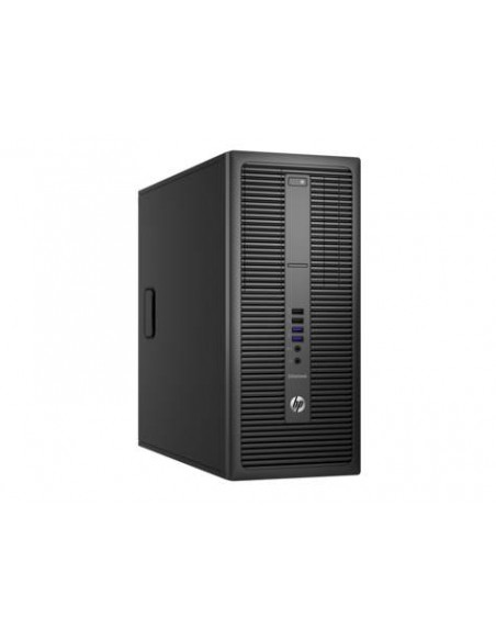 HP EliteDesk 800 G2 3.7GHz i3-6100 Micro tour Noir PC