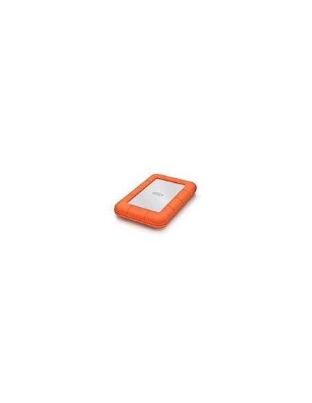 LaCie Rugged Mini 500GB USB Type-A 3.0 (3.1 Gen 1) 500Go Argent disque dur externe