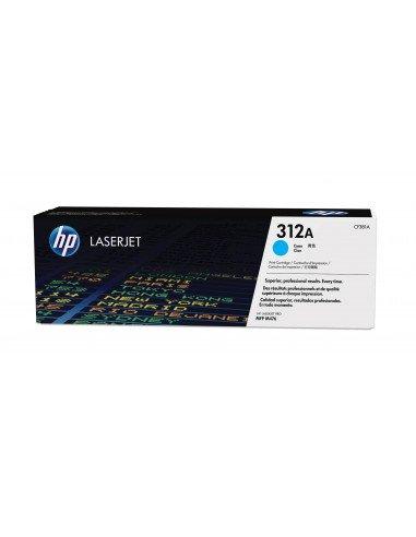 HP Cartouche de toner cyan authentique LaserJet 312A