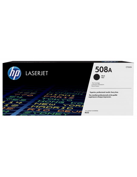HP 508A toner LaserJet Noir authentique