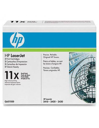 HP 11X Laser cartridge 12000pages Noir