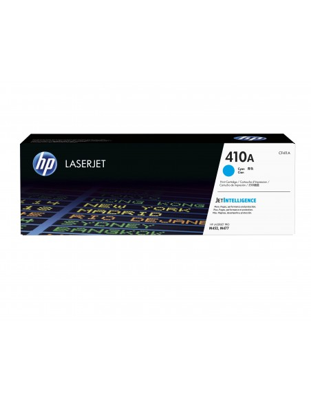 HP 410A toner LaserJet cyan authentique