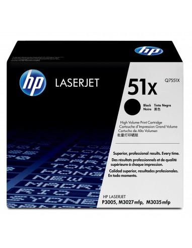 HP 51X toner LaserJet noir grande capacité authentique