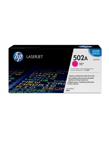 HP 502A toner LaserJet magenta authentique