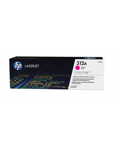 HP Cartouche de toner magenta authentique LaserJet 312A