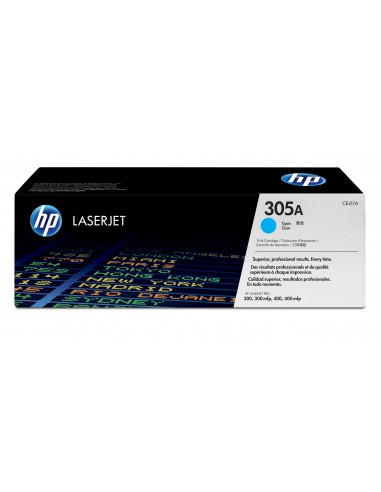 HP 305A toner LaserJet cyan authentique