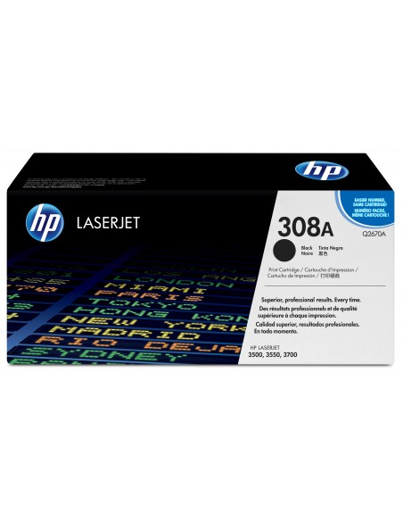 HP 308A toner LaserJet noir authentique