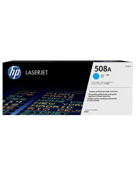 HP 508A toner LaserJet Cyan authentique