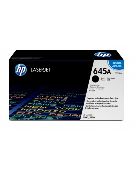 HP 645A toner LaserJet noir authentique