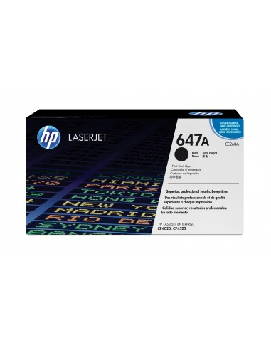 HP 647A toner LaserJet noir authentique