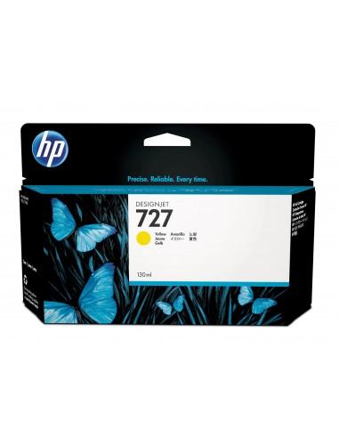 HP 727 cartouche d'encre Designjet jaune, 130 ml