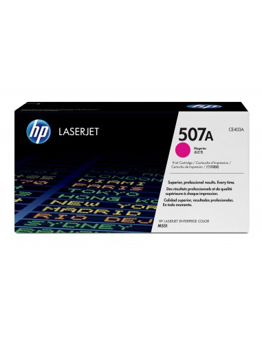 HP 507A toner LaserJet magenta authentique