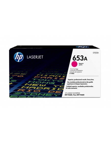 HP Cartouche de toner magenta originale LaserJet 653A