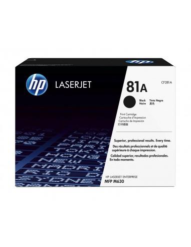 HP 81A toner LaserJet noir authentique