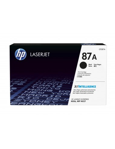 HP 87A toner LaserJet noir authentique