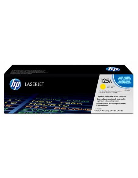 HP 125A toner LaserJet jaune authentique