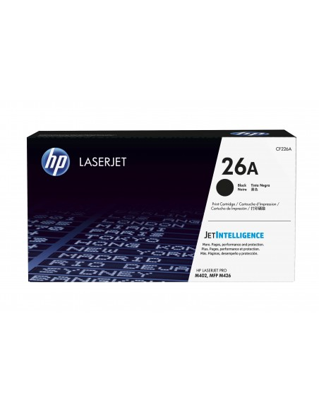 HP 26A toner LaserJet noir authentique