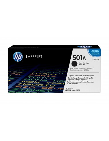 HP 501A toner LaserJet noir authentique