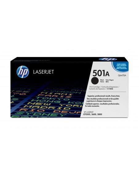 HP 501A toner LaserJet noir authentique