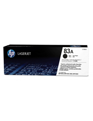 HP 83A toner LaserJet noir authentique