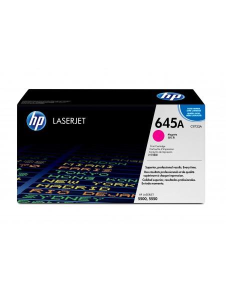 HP 645A toner LaserJet magenta authentique