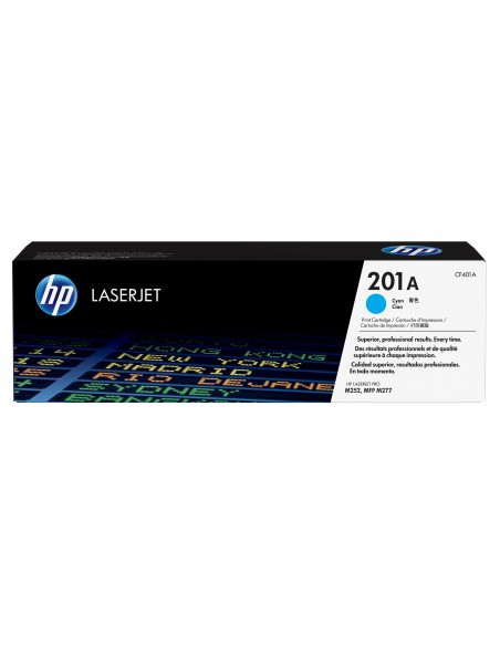 HP 201A toner LaserJet Cyan authentique