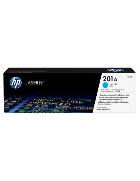 HP 201A toner LaserJet Cyan authentique