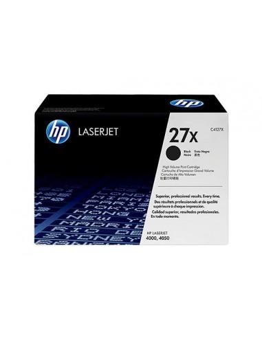 HP 27X toner LaserJet noir grande capacité authentique