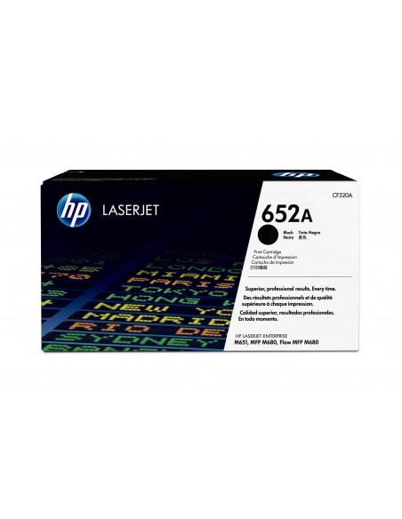 HP Cartouche de toner noir authentique LaserJet 652A