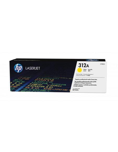 HP Cartouche de toner jaune authentique LaserJet 312A