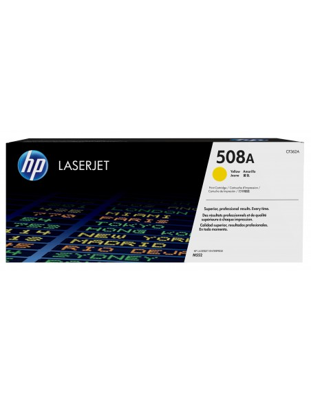 HP 508A toner LaserJet Jaune authentique