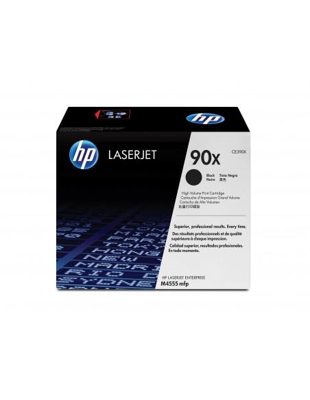 HP 90X toner LaserJet noir grande capacité authentique