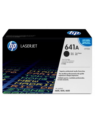 HP 641A toner LaserJet noir authentique