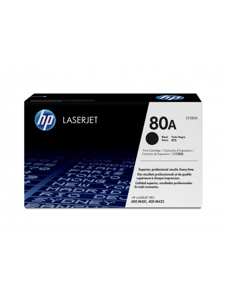 HP 80A toner LaserJet noir authentique
