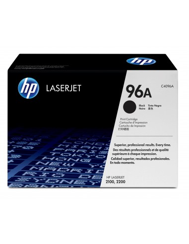 HP 96A toner LaserJet noir authentique