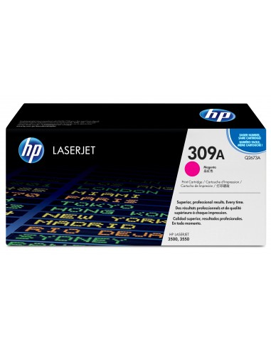 HP 309A toner LaserJet magenta authentique